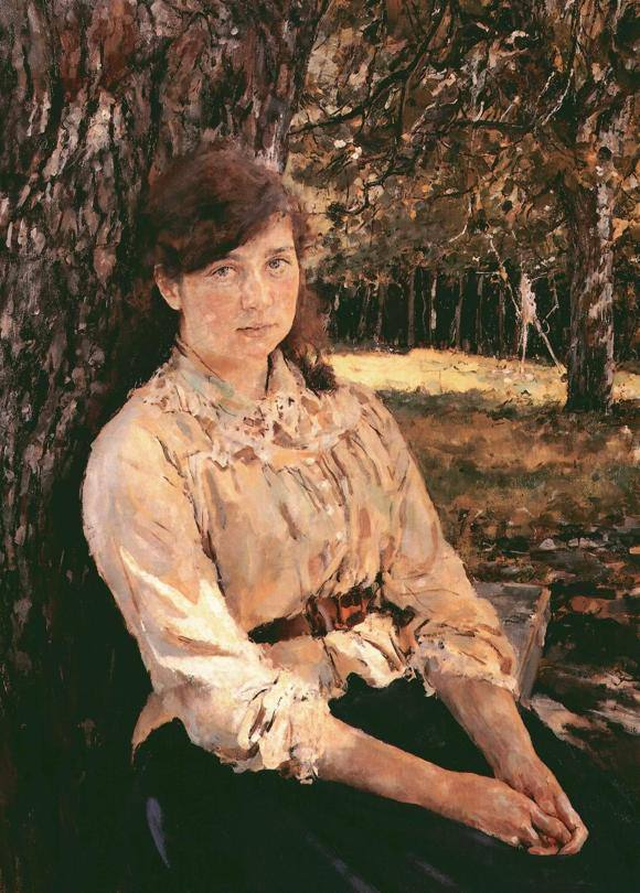 Валентин Серов - Девушка, освещённая солнцем