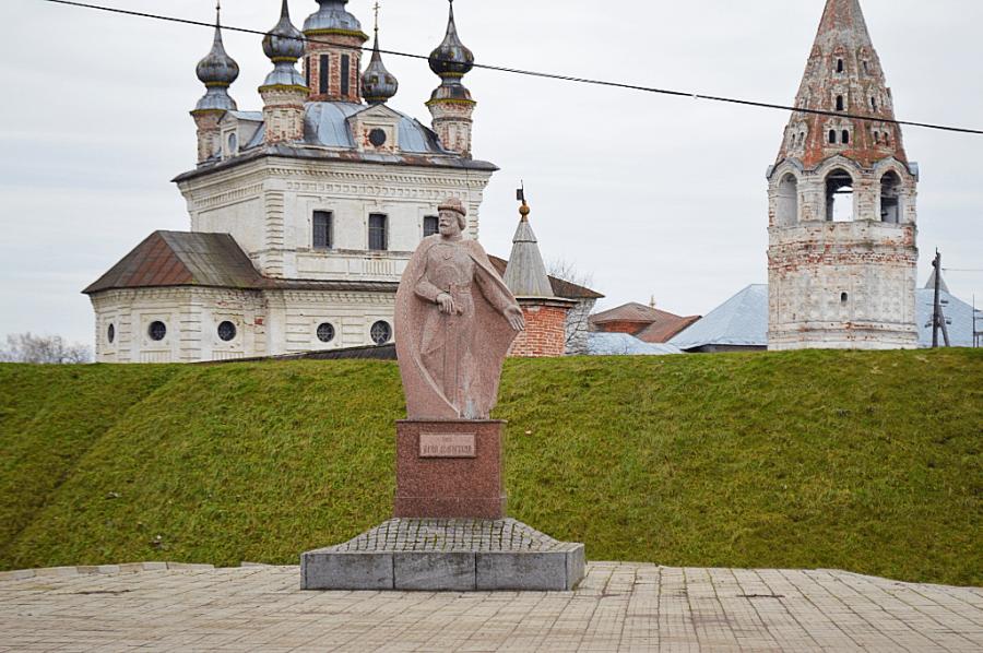 Город Юрьев-Польский расположен на реке Колокша — приток Клязьмы
