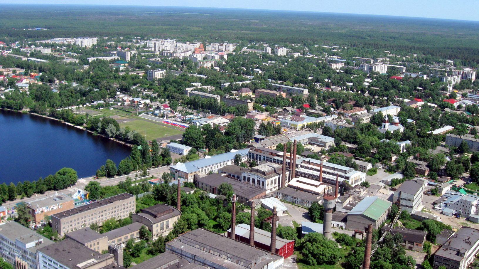 Гусь-Хрустальный расположен во Владимирской области