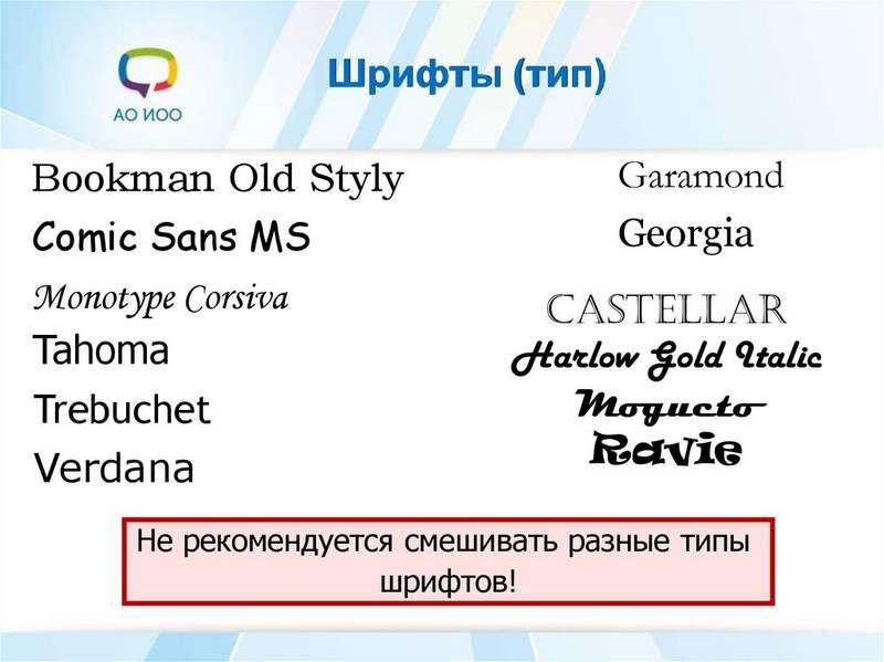 HTML. Шрифты