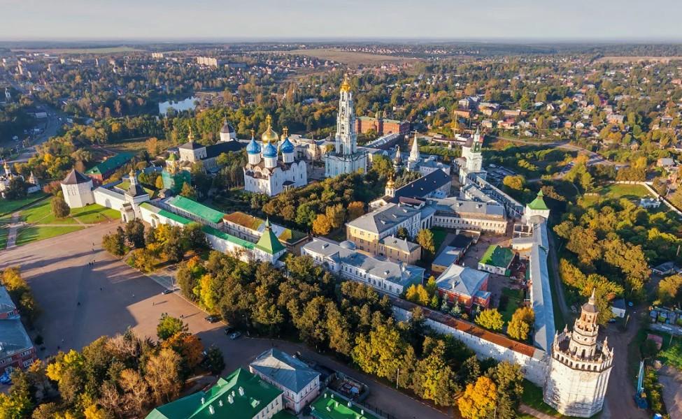 Сергиев Посад. Золотое кольцо России
