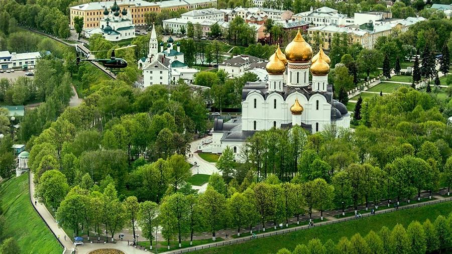 Золотое кольцо России Ярославль