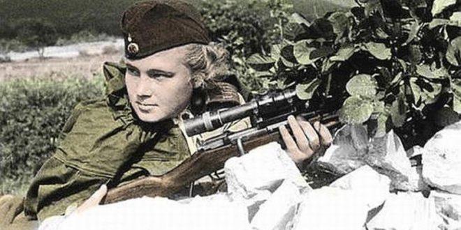 Женщины военной поры