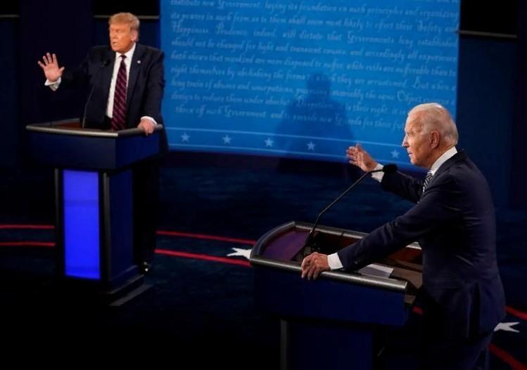 Фьючерсы упали после жарких дебатов Трампа и Байдена