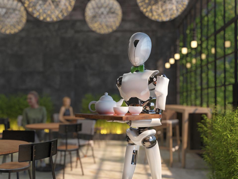 Во время пандемии в ресторане начнут обслуживать роботы-официанты