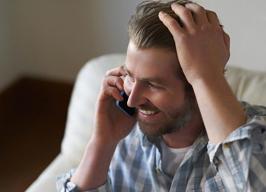 Частое общение по телефону
