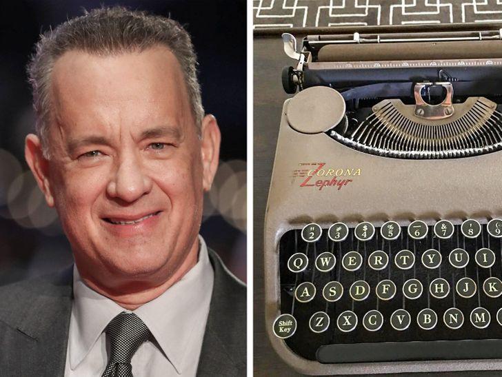 Том Хэнкс владеет более чем сотней старинных пишущих машинок