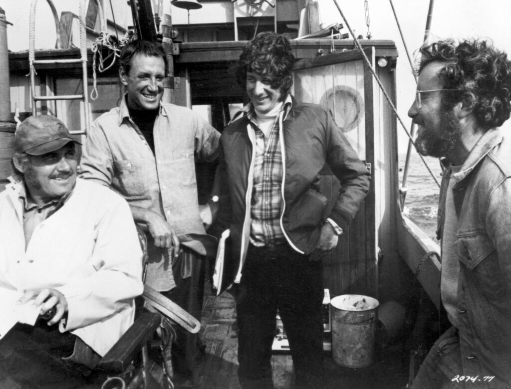 Стивену Спилбергу (второй справа) было всего 27 лет