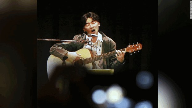 Голограммный концерт покойного южнокорейского певца Ким Кван Сок состоялся в его родном городе Тэгу 10 июня 2016 года