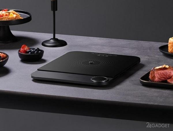 Представлена компактная индукционная плита Xiaomi MiJia с дисплеем и NFC модулем